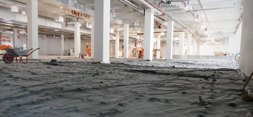 Thanks to Powerscreed rapid, the screed replacement work at the FitX studio in Berlin met all the top performance criteria specified.