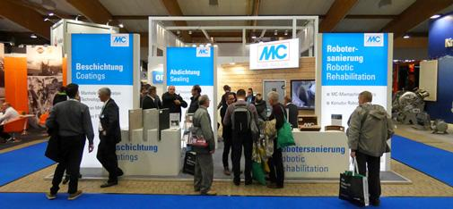 From 8 to 10 May 2019, MC-Bauchemie participates at the RO-KA-TECH, the international fair for pipeline, sewer and industrial services, in Kassel, Germany. MC-Bauchemie's stand can be found in Hall 10-11 H10/C04.