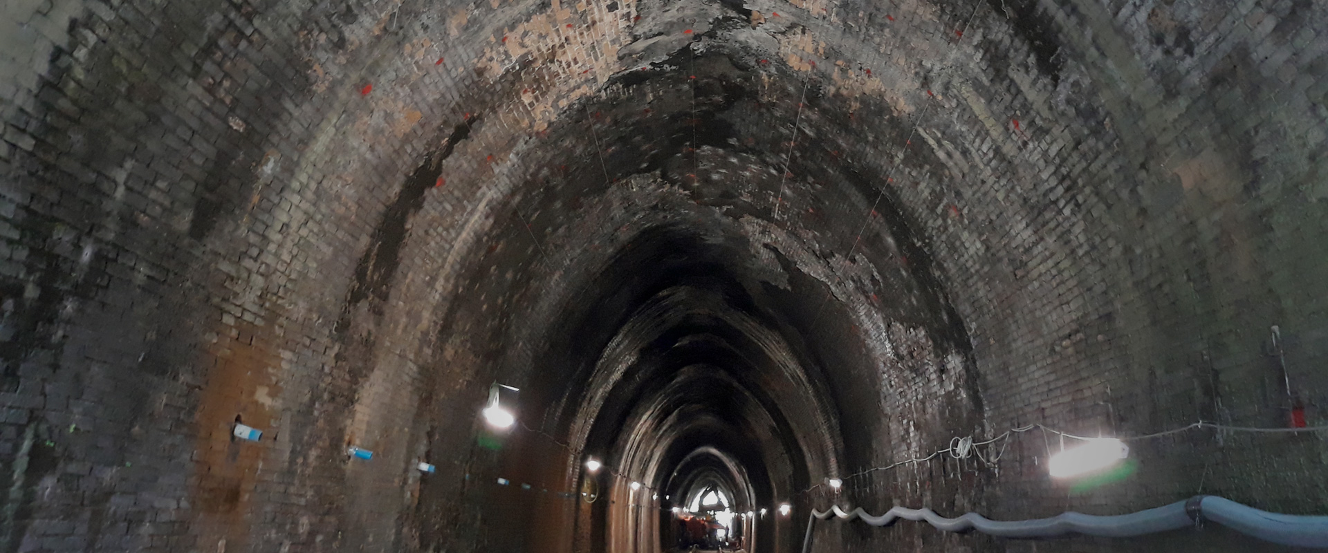 Tunnel waterproofing in Campania