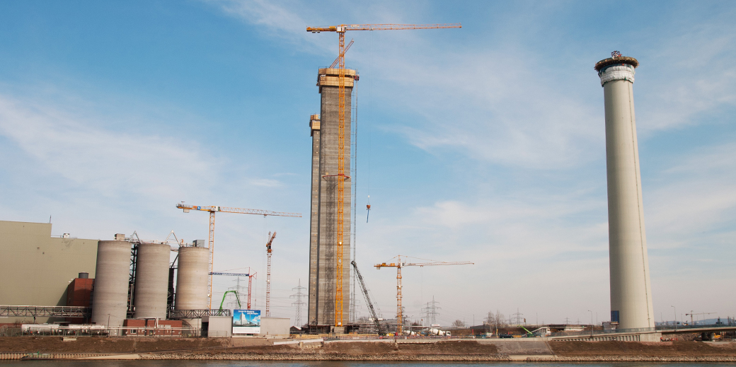 Improved chimney and cooling tower construction