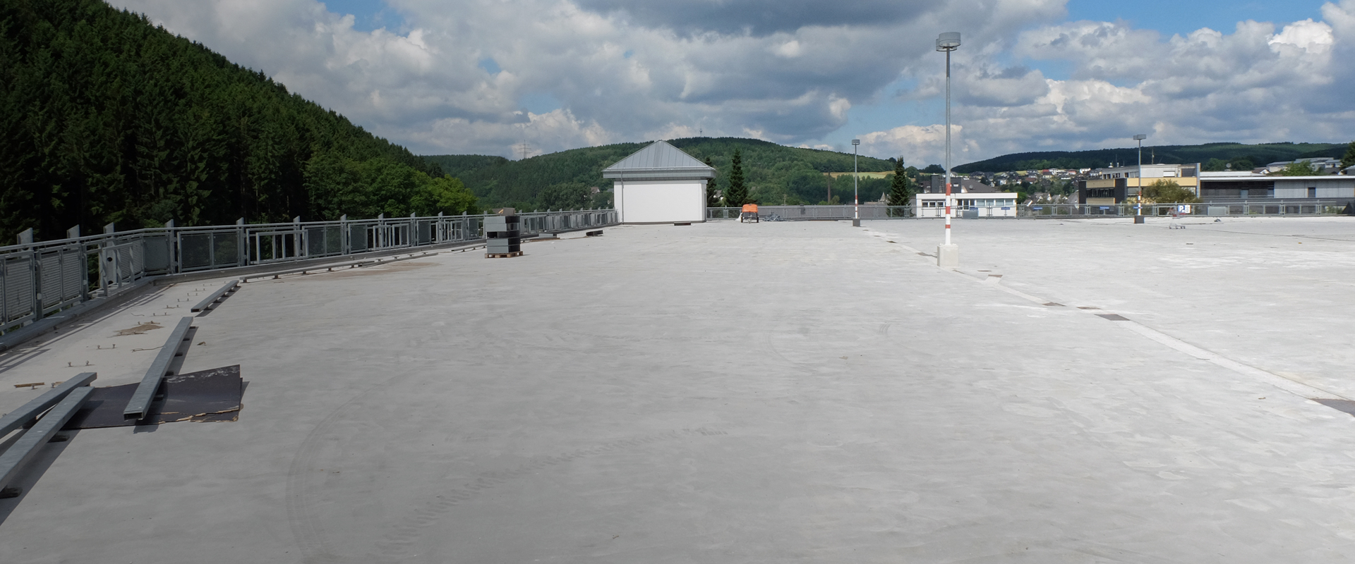 New surface protection systems for car parks